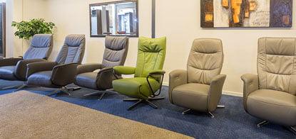 Leren Design Relaxstoelen.Relaxfauteuils Relaxstoel Draaifauteuil Of Leren Fauteuil Kopen