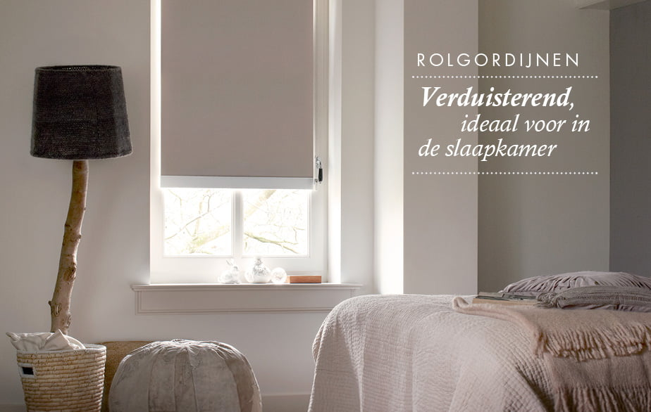 Rolgordijnen als raamdecoratie luxaflex of bece van den eijnde